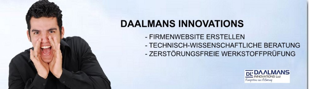 Daalmans-Innovations für Webdesign und wissenschaftlich-technische Beratung