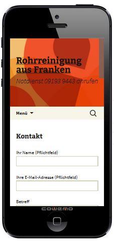 Kontaktformular in WP-Theme 2013